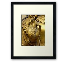 Vitarka Mudra Framed Print
