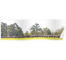 Fields of Glory - Brigadoon , 31st Highland Gathering, Bundanoon NSW Australia Poster