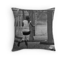 Just a Swingin! Throw Pillow