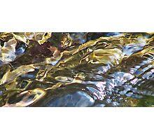 Fluid Metals Photographic Print