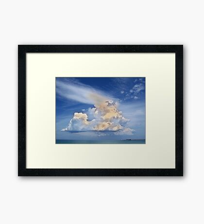 God's Eye View Framed Print