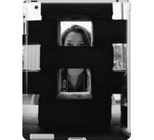 Parking garage peep holes iPad Case/Skin
