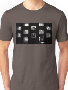 Parking garage peep holes Unisex T-Shirt