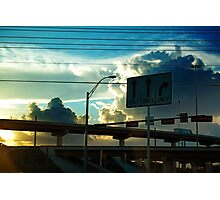 Highway to the sky Photographic Print