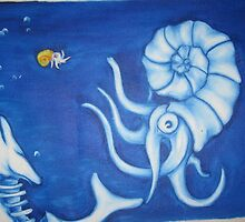 Nautilus vs Whale by Timmy Pottle