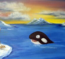 Battering Whales by Timmy Pottle