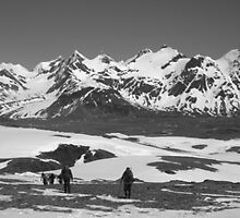 in Shackleton's Footsteps  ~  Fortuna Bay, South Georgia Island by Geoffrey Elliott