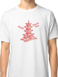 Chinese Food Take Out Classic T-Shirt