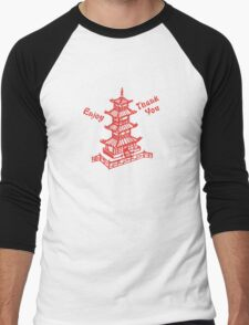 Chinese Food Take Out Men's Baseball ¾ T-Shirt