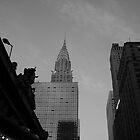 Chrystler Building by David Marciniszyn