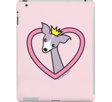 Princess Italian Greyhound iPad Case/Skin