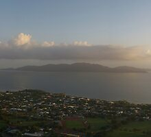 Townsville Sunrise from Castle Hill by Paul Gilbert