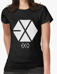 Exo Logo Womens Fitted T-Shirt