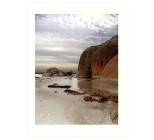 A barren beach... Art Print