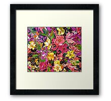 Floral Touch Framed Print