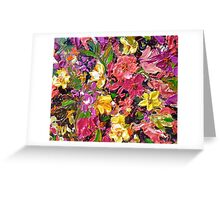 Floral Touch Greeting Card