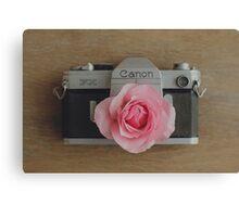 Floral Canon Canvas Print