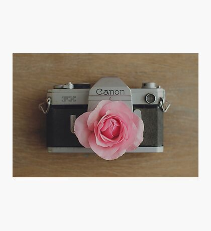 Floral Canon Photographic Print