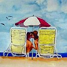 Vacation Couple by Jim Phillips