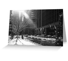 New York Winter Greeting Card