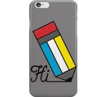 Mondrian: Greeting #2 iPhone Case/Skin