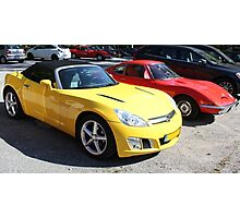 Opel GT Classic Sports Cars Photographic Print