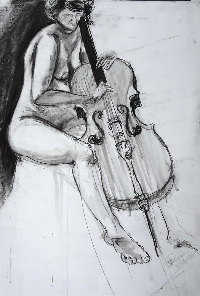 Cello Dreaming by Damian Kuczynski