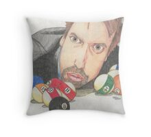 Tom Green Throw Pillow