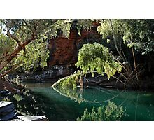 Late afternoon Knox Gorge, Karijini Photographic Print