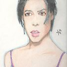 Neve Campbell by Dylan Mazziotti