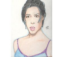 Neve Campbell Photographic Print