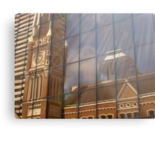 Reflections of Past History Metal Print