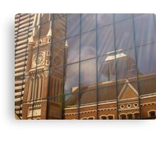 Reflections of Past History Canvas Print