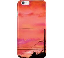 Neon Coloured Sky iPhone Case/Skin