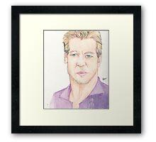 Actor Val Kilmer Framed Print