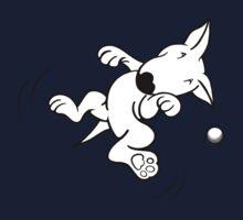 Flying English Bull Terrier  Kids Tee