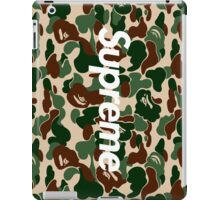 Supreme x Bape  iPad Case/Skin