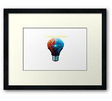 Good Idea Framed Print