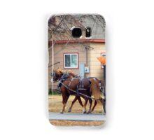 Urban Transportation Samsung Galaxy Case/Skin