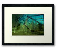 Reflected engineering Framed Print