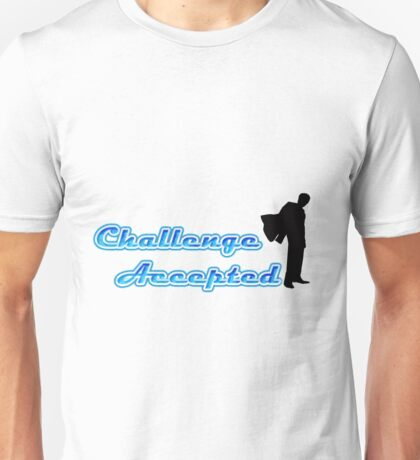 Funny Challenge Accepted Unisex T-Shirt