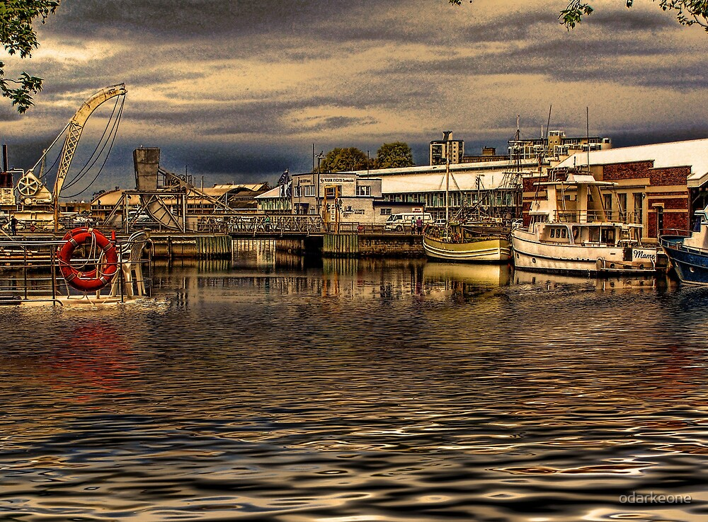 Boats In Hobart HDR by odarkeone