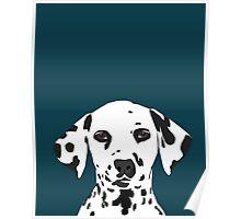 Ryan - Dalmatian Dog Print for Dog Lover, Pet Owner Poster