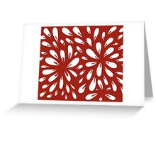 blossom (red) Greeting Card