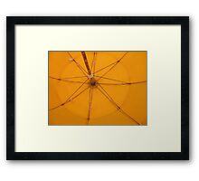Beach star Framed Print