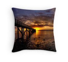 First glimpse Throw Pillow