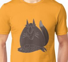Black cat(ch) Unisex T-Shirt