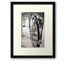 Pedals and Petals Framed Print