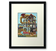 Close the gates! Framed Print