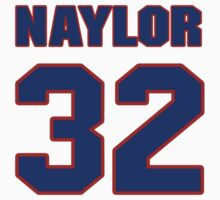 National baseball player Earl Naylor jersey 32 by imsport